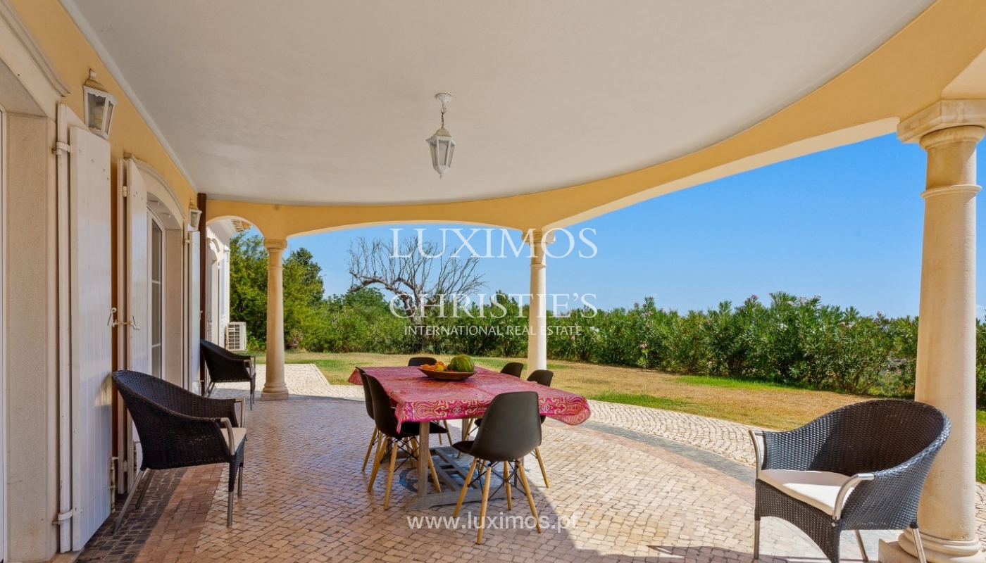 Sale of villa with pool and sea view in Silves, Algarve, Portugal_97124