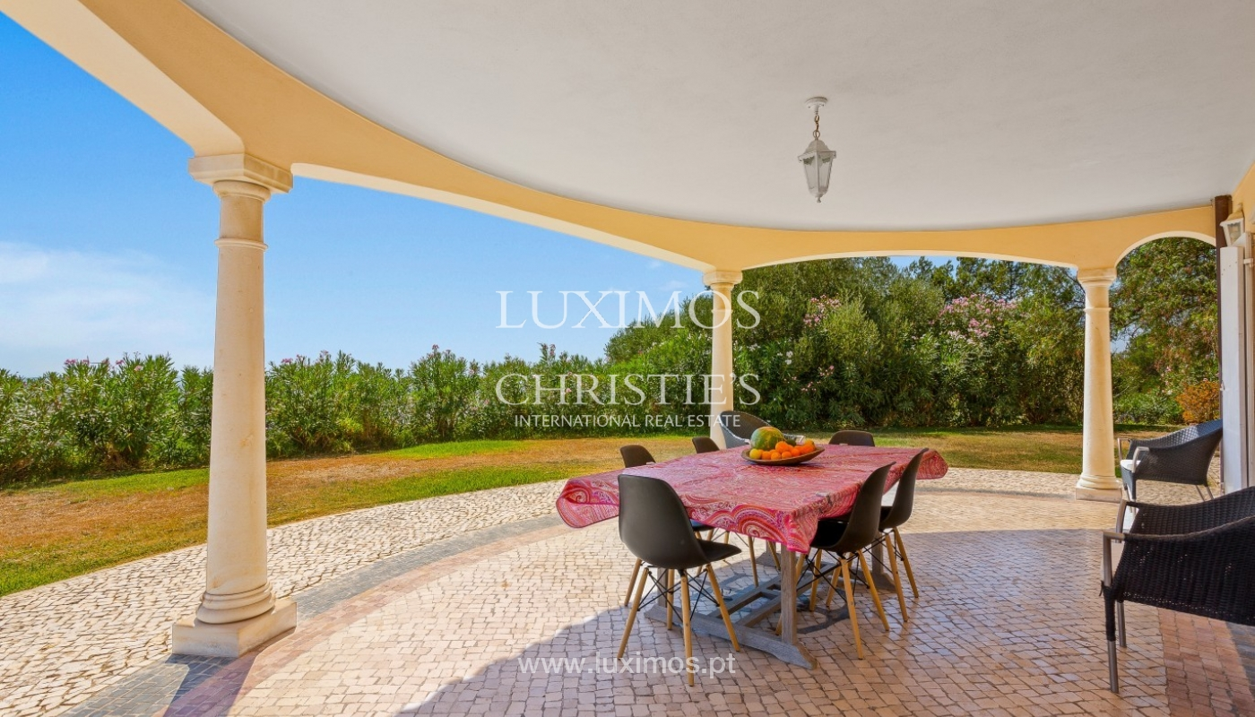 Sale of villa with pool and sea view in Silves, Algarve, Portugal_97125