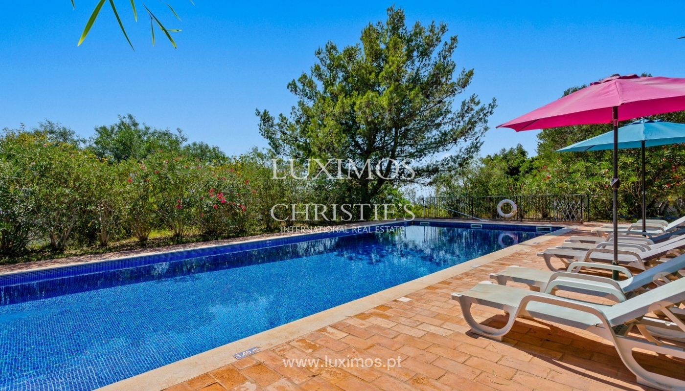 Sale of villa with pool and sea view in Silves, Algarve, Portugal_97127