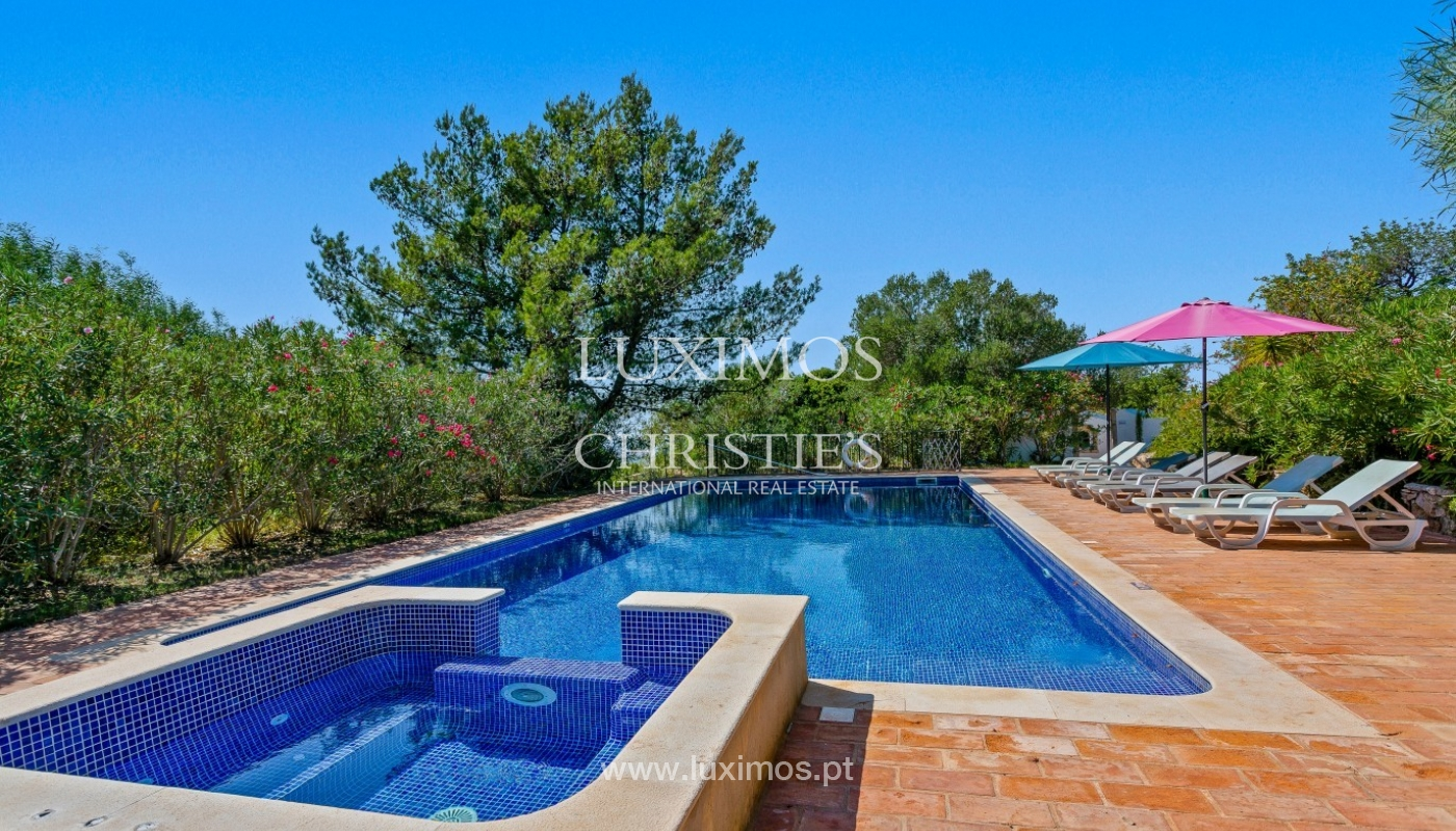 Sale of villa with pool and sea view in Silves, Algarve, Portugal_97128