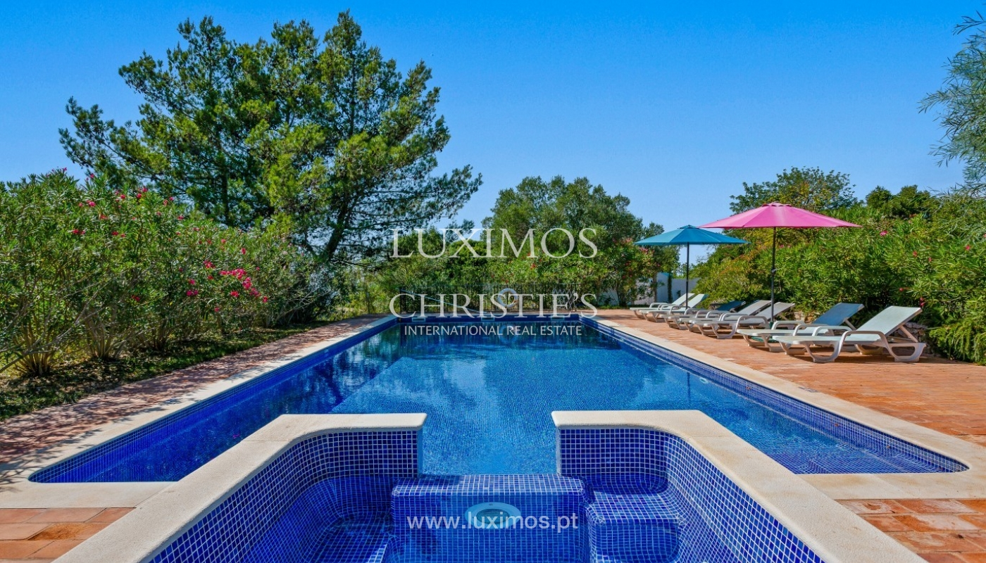 Sale of villa with pool and sea view in Silves, Algarve, Portugal_97129