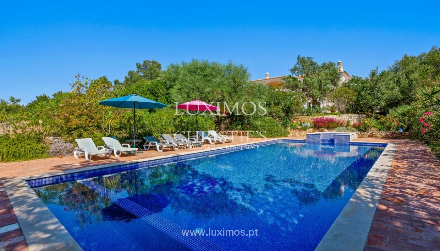 Sale of villa with pool and sea view in Silves, Algarve, Portugal_97130