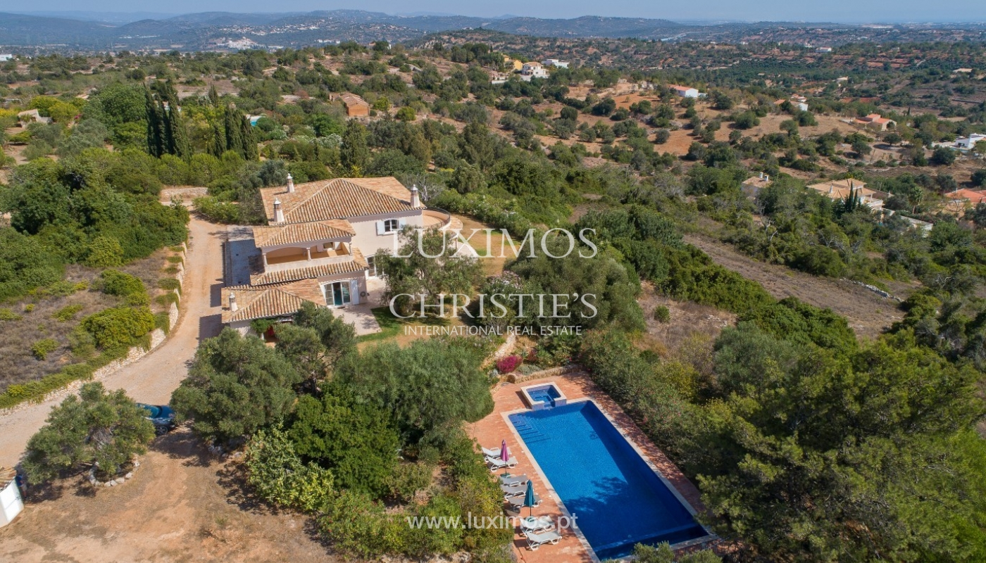 Sale of villa with pool and sea view in Silves, Algarve, Portugal_97135