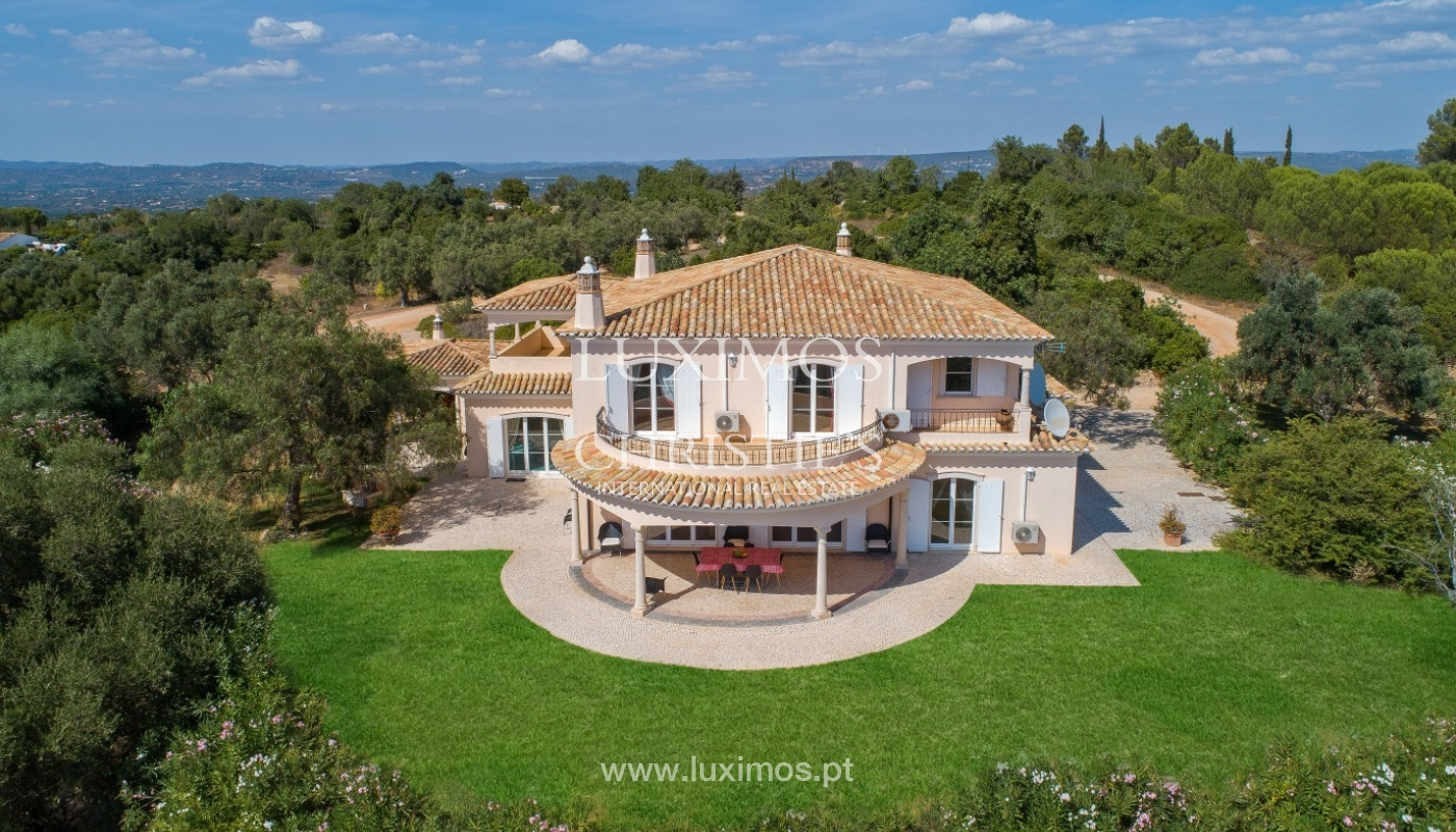 Sale of villa with pool and sea view in Silves, Algarve, Portugal_97136