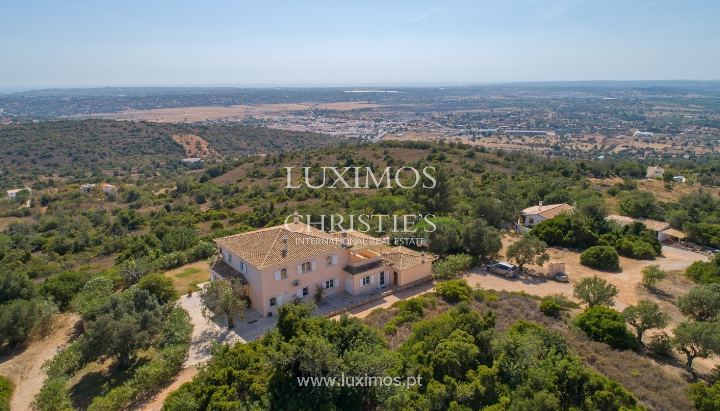 Sale of villa with pool and sea view near Silves, Algarve, Portugal_97232