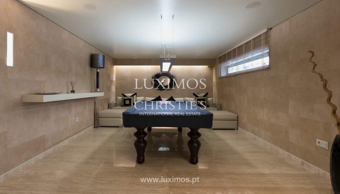 Sale of contemporary villa with pool, Vila Nova de Gaia, Portugal_97770