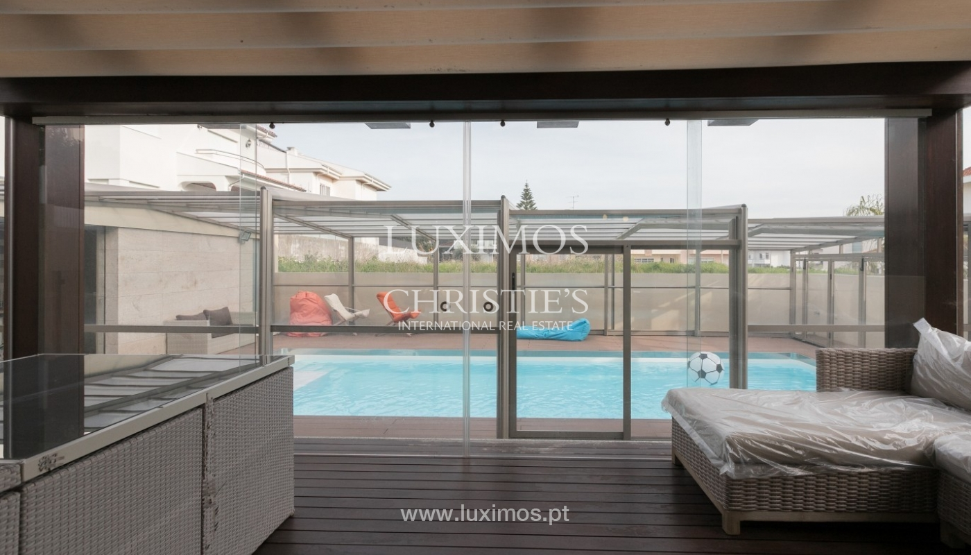 Sale of contemporary villa with pool, Vila Nova de Gaia, Portugal_97780
