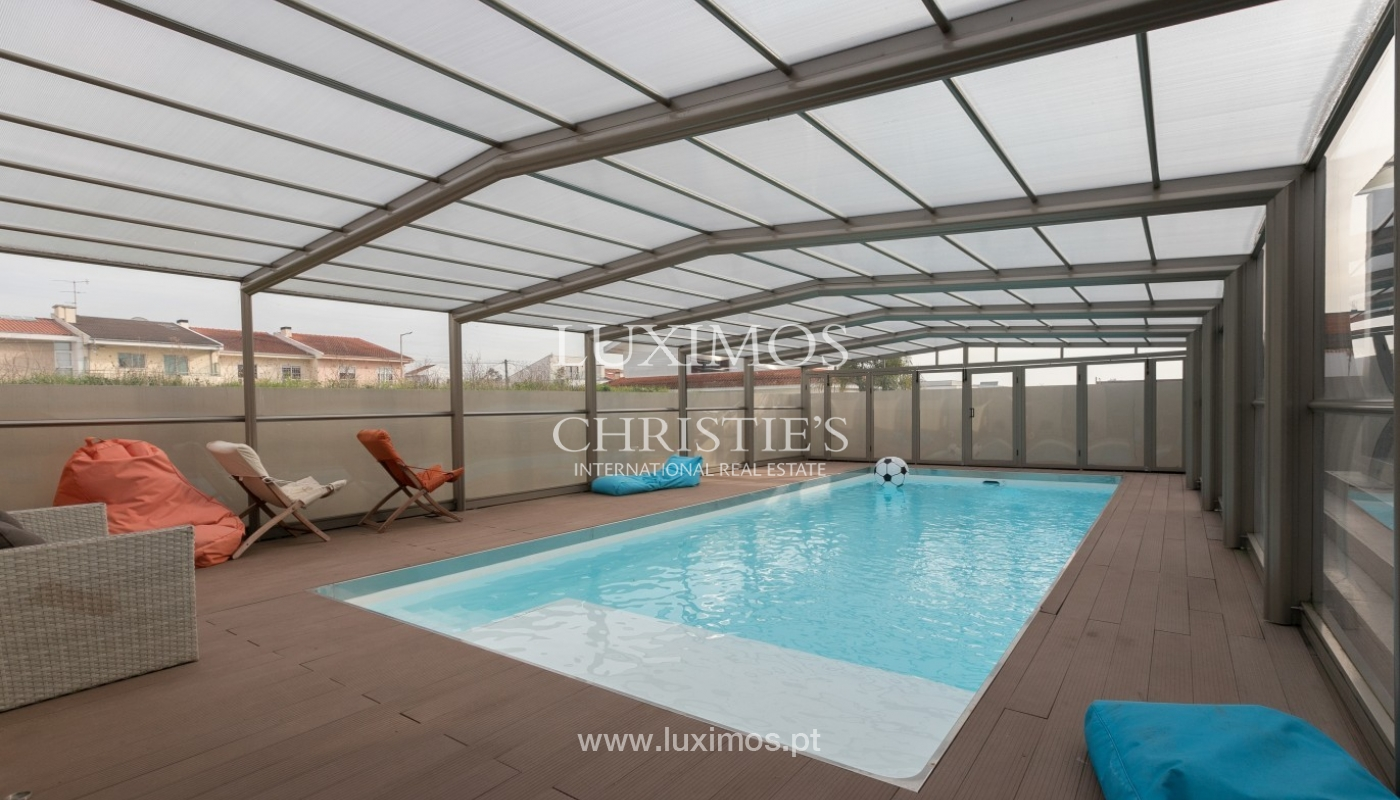 Sale of contemporary villa with pool, Vila Nova de Gaia, Portugal_97782