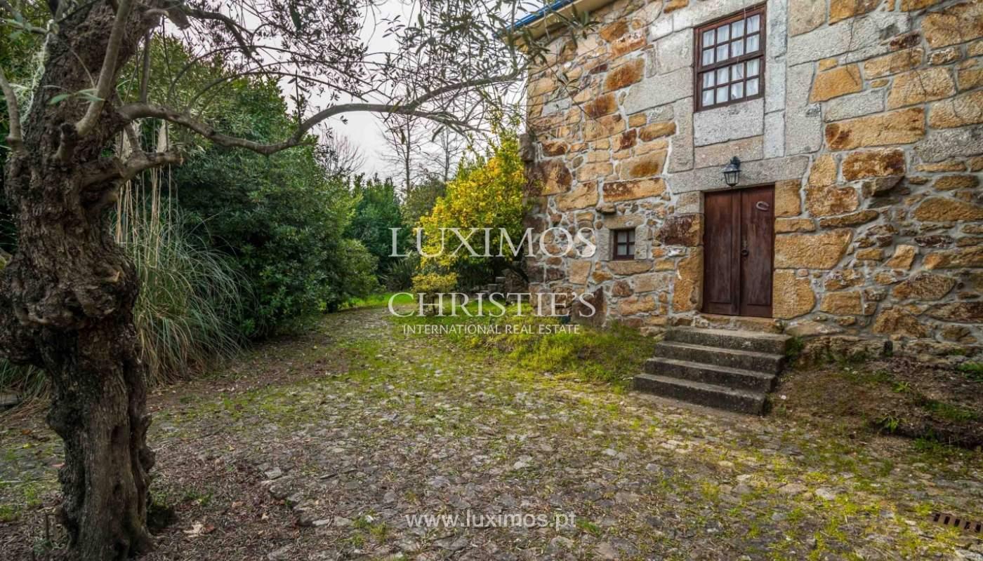 Venta de casa de campo con jardín y huerto, Paços de Ferreira, Portugal_98136