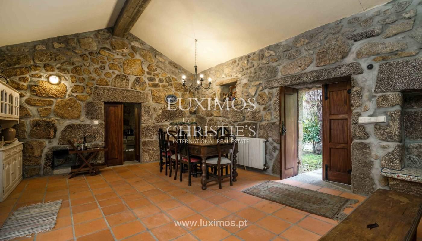 Venta de casa de campo con jardín y huerto, Paços de Ferreira, Portugal_98139