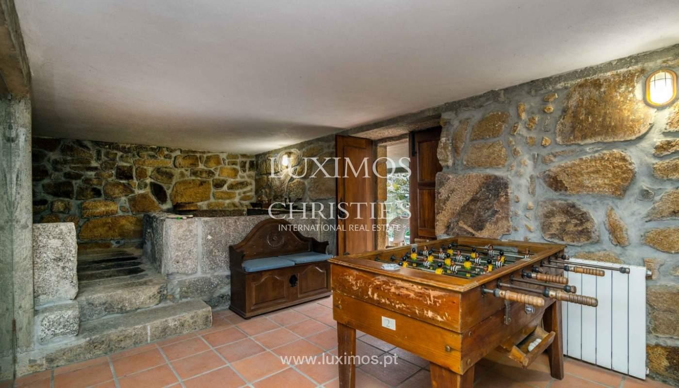 Venta de casa de campo con jardín y huerto, Paços de Ferreira, Portugal_98151