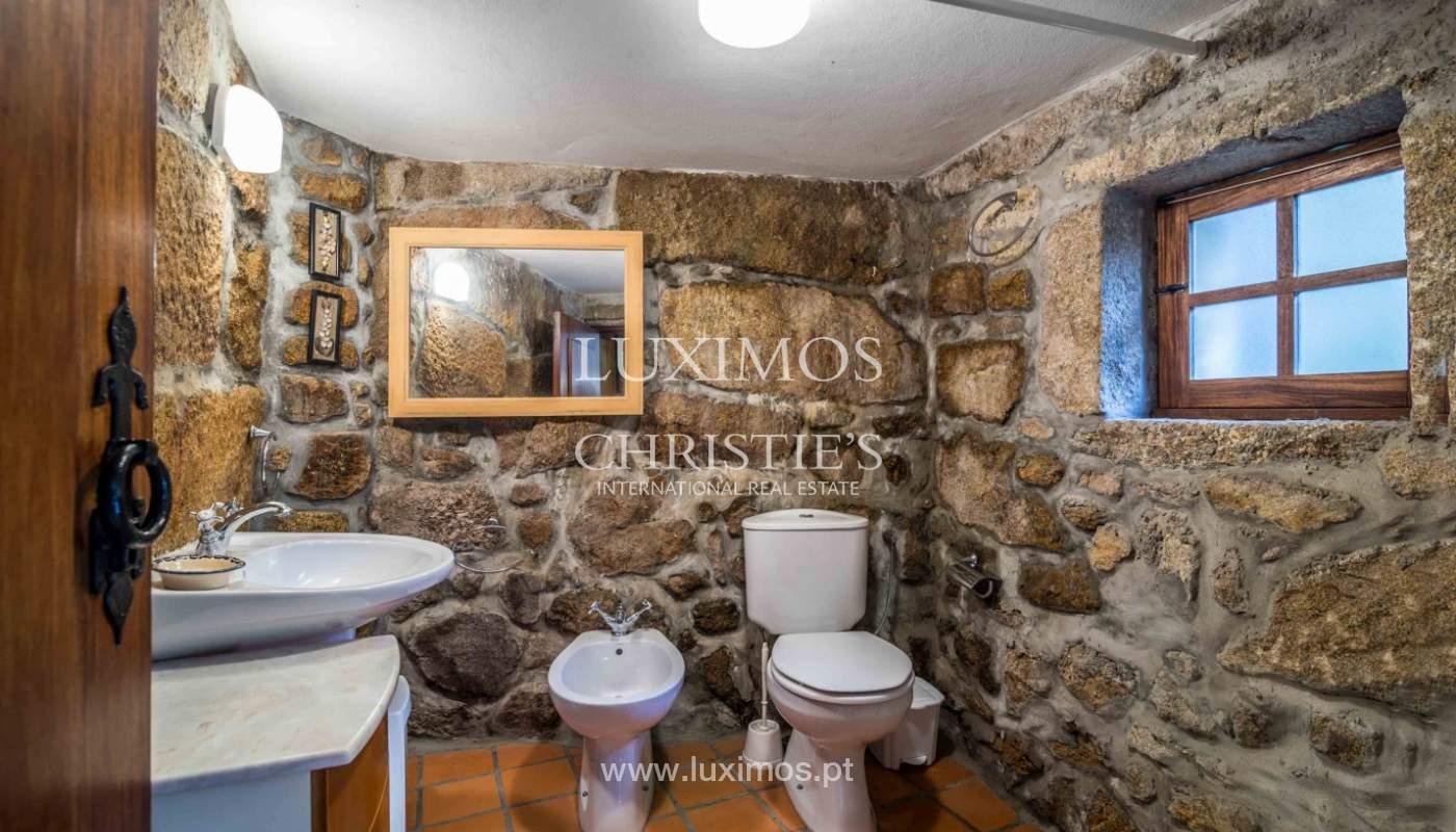 Venta de casa de campo con jardín y huerto, Paços de Ferreira, Portugal_98155