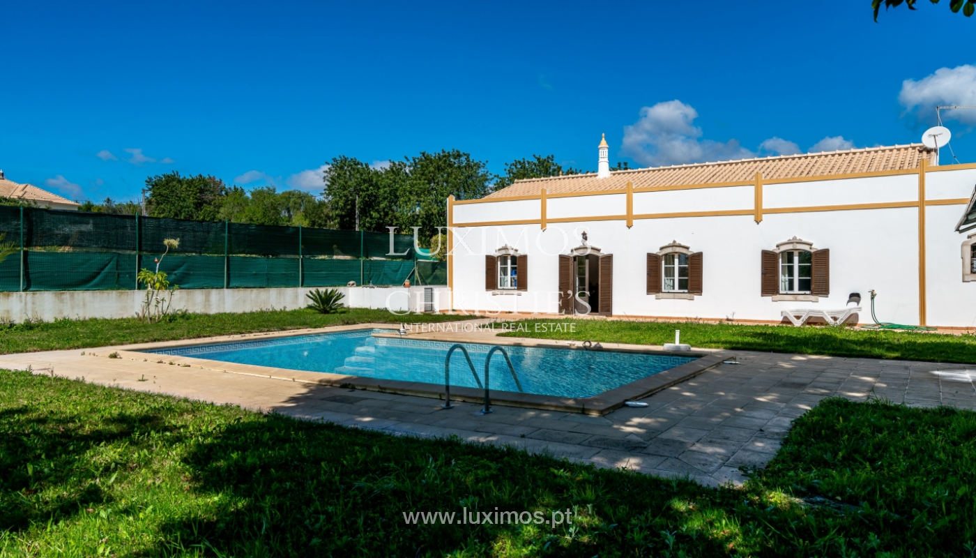Sale of villa with pool in Boliqueime, Loulé, Algarve, Portugal_98525
