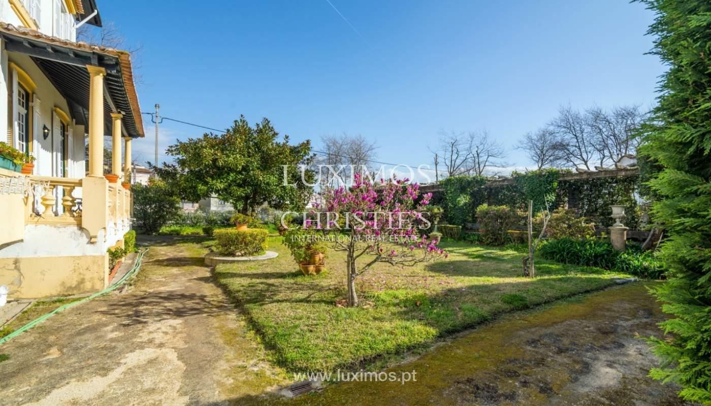 Venta de casa con jardín, cerca del mar, V. N. Gaia, Porto, Portugal_99207