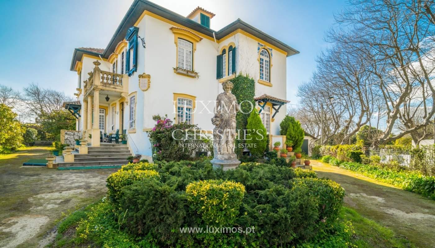 Venta de casa con jardín, cerca del mar, V. N. Gaia, Porto, Portugal_99209
