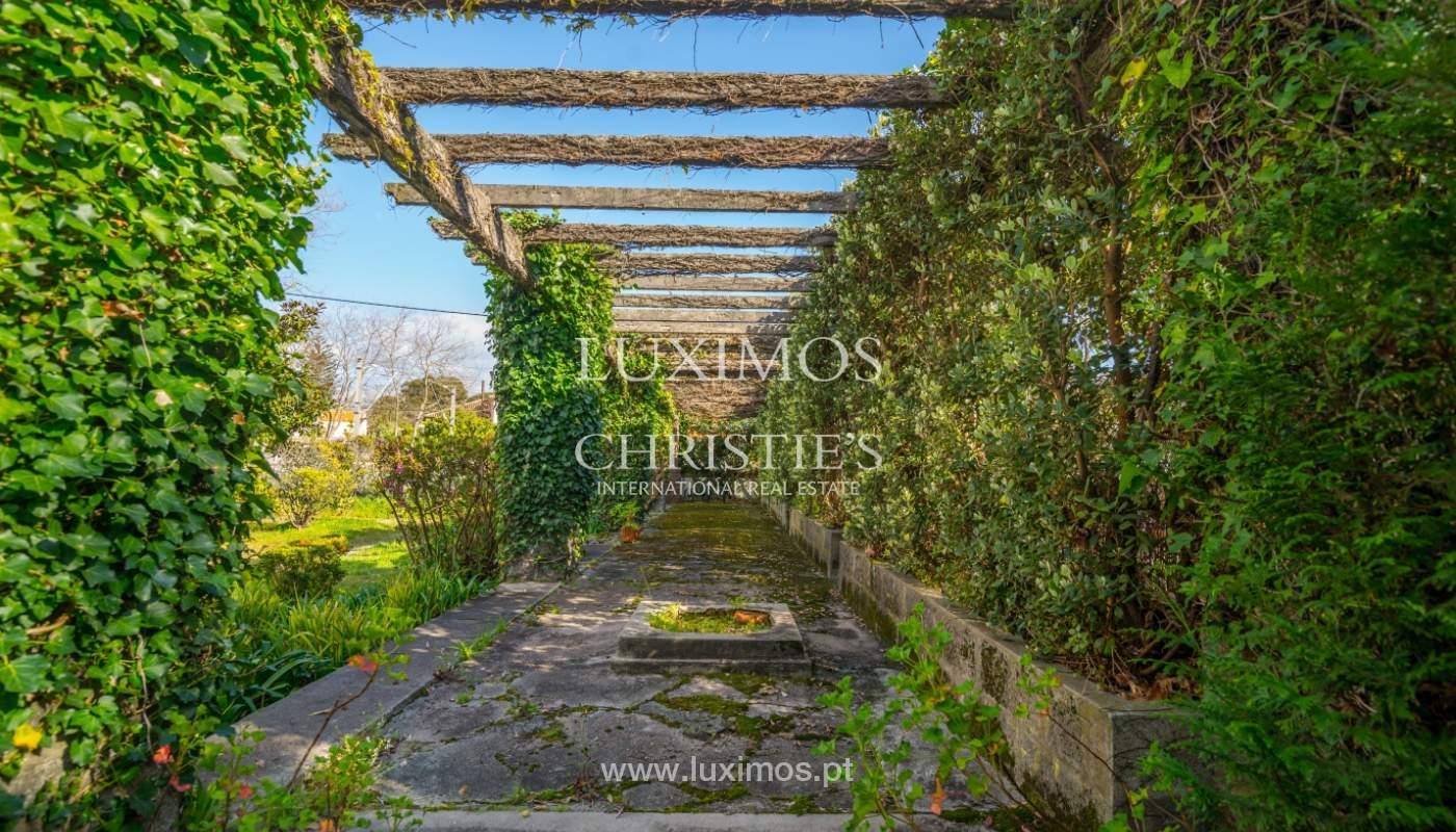 Venta de casa con jardín, cerca del mar, V. N. Gaia, Porto, Portugal_99210