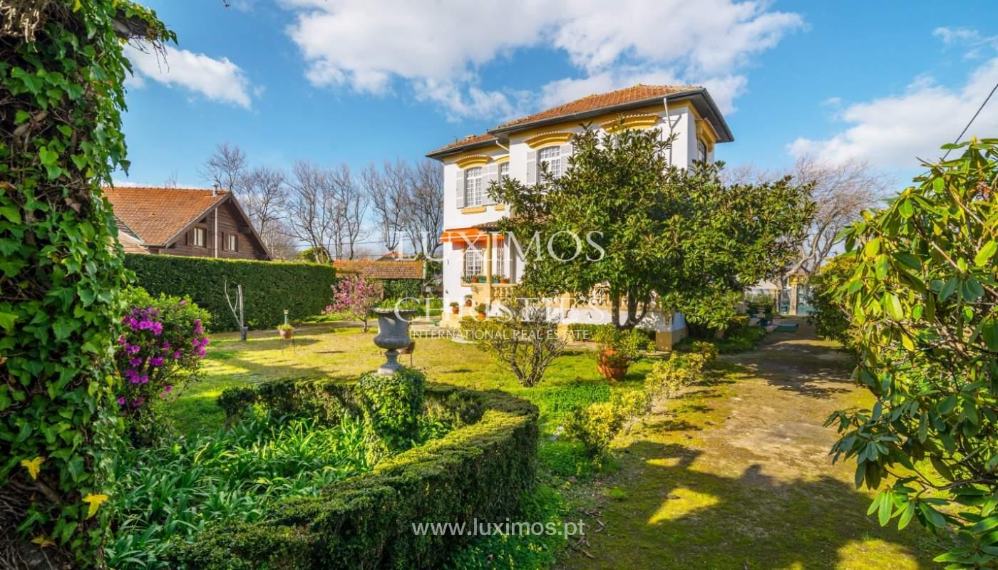 Venta de casa con jardín, cerca del mar, V. N. Gaia, Porto, Portugal_99211