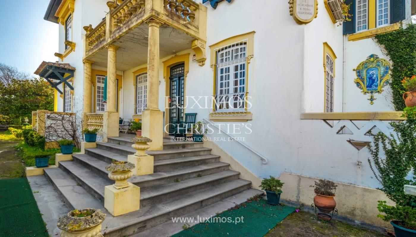 Venta de casa con jardín, cerca del mar, V. N. Gaia, Porto, Portugal_99212