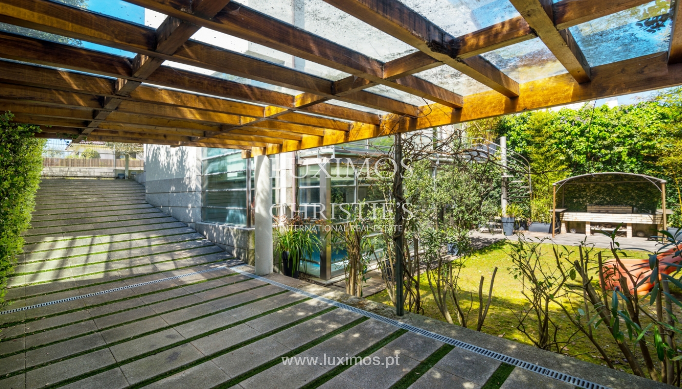 Venta vivienda contemporánea con piscina y jardín, V. N. Gaia, Portugal_99955