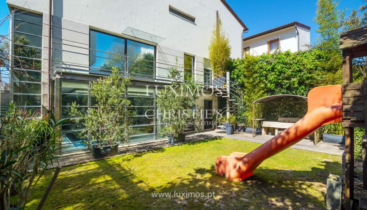 Venta vivienda contemporánea con piscina y jardín, V. N. Gaia, Portugal_99956