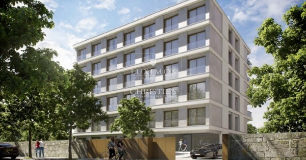 New development of luxury apartments in Pinhais da Foz, Porto